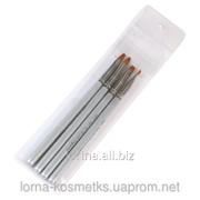 Кисти для наращивания акриловых и гелевых ногтей, арт. Sm-165 фото