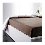 Натяжные простыни IKEA из сатина на резинке 160х200 фото