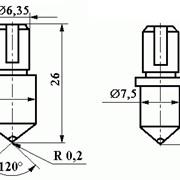 Наконечник алмазный «НК» для измерения твердости по методу Роквелла фото