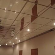 Потолки кассетные фото