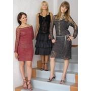 Женские трикотажные платья фото