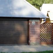 Автоматические гаражные секционные ворота фото