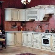 Кухня Амалия угловая беж фото