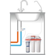 Бытовые фильтры для воды. фото