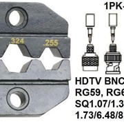 Pro`skit 1PK-3003D32 Насадка для обжима 1PK-3003F (HDTV, BNC/TNC,CATV F,RG59,RG6, Belden SQ) фото