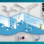 Организация офисной сети (СКС) фото