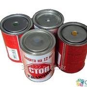 Грунт- эмаль по ржавчине ХВ-0278 красная (20 кг) фото