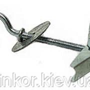 4х45 раскладной пружинный дюбель с 3/4 кольцом фото