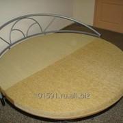 Кровать двухспальная круглая фото