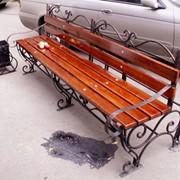 Скамейка № 4 фото