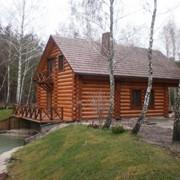 Дом из сруба фото