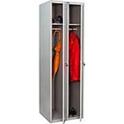 Металлический шкаф для раздевалок 2х2 фото