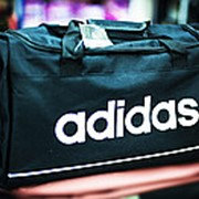 Спортивная сумка ADIDAS средняя 49х23х28 см черная фото