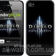 """Чехол на iPhone 4s Diablo 3. Reaper of Souls """"1616c-12"""" фото"""