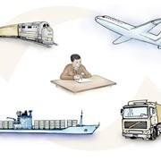 Экспорт, экспорт грузов, перевозка товаров фото