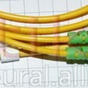 Шнур оптический SM-FC, APC -LC, APC 2м х2 фото