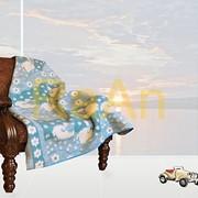 Одеяло полушерстяное детское фото