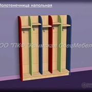 Мебель для раздевалок: Полотеничница напольная 13009 фото