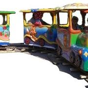 Железная дорога Веселый поезд фото