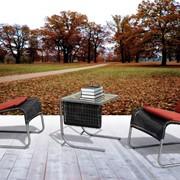 Мебель для сада из ротанга и алюминия. Артикул 1110 DOBLE. фото