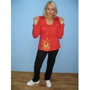 Одежда спортивная (джемпер женский с капюшоном и брюки спортивные) фото