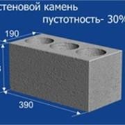 Блок пустотность 30% фото