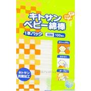 Детские ватные палочки с хитозаном PIP BABY (мягкая упаковка) 1/200 4902522720243 фото