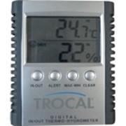 Внутренний/внешний электронный термометр с гигрометром и зоной комфорта фото