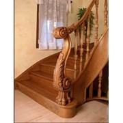 Деревянные лестницы фото