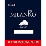 Мужские носки летние укороченные MilanKo фото