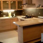 Столешницы для кухонной мебели из искусственного камня фото