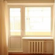 Металлопластиковые балконные двери, Eurоsuperplast 1м2, 2-е остекление фото