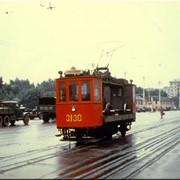 Моторные вагоны трамвая фото