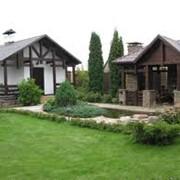 Ландшафтный дизайн сада в Астане фото