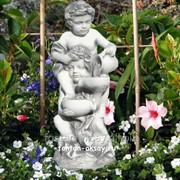 Дети каскад-фигурка для фонтана фото