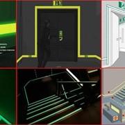 Фотолюминесцентные эвакуационные системы фото
