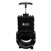 Гильотинная задвижка Praher PVC-U (ПВХ) DN 40-100 мм фото