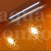 Водопад декоративный по стеклу фото