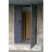 Двери металлические подъезные фото