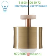 Ladies and Gentlemen Studio Spun Mini Pendant Light (Polished Brass) - OPEN BOX RETURN, светильник фото