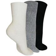 Носки согревающие из ангоры и овечьей шерсти фото