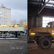 Аренда манипулятора стрела 7 тонн, борт 16 т Урал