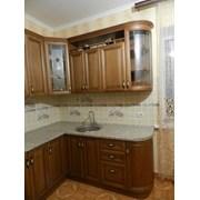 Кухонный гарнитур массив дуба фото
