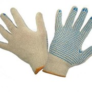 Перчатки рабочие х/б фото
