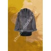 Меховая жилетка 75010 фото