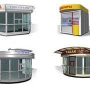 Магазины и киоски из металлоконструкций фото