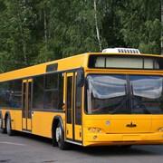 Городской автобус МАЗ-107 фото