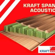 Акустические сэндвич-панели Kraft SPAN ACOUSTIC. Кровельные фото