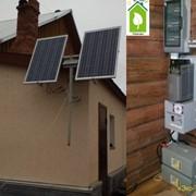 Солнечная электростанция фото