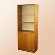 Шкаф для документов, полуоткрытый фото
